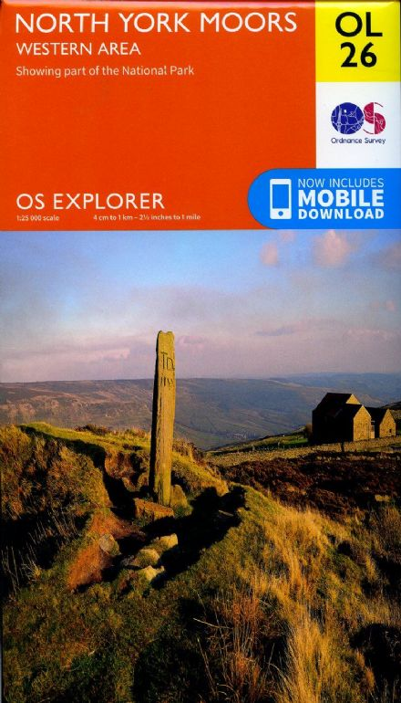 OS Explorer OL 26 North York Moors - Western Area